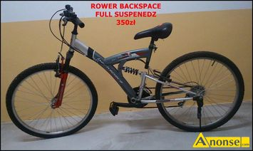 Anonse ROWER backspace, full suspendez 26