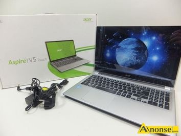 Anonse ACER v5 touch INTEL CORE i3 4gb win 8,1 500gb hdd, wielkosc matrycy, 15