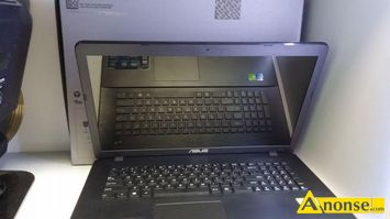 Anonse LAPTOP ASUS x751ln-ty066h / i5 /4g/ 1 tb, / nowy, wielkosc matrycy, 17