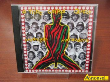 Anonse ALBUM CD a tribe called quest - midnight marauder, stan uzywany, płytę, clled,