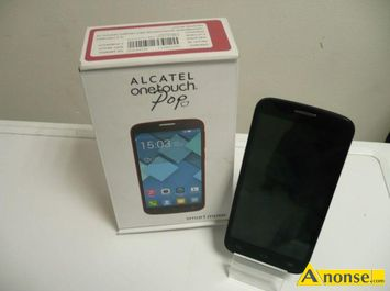 Anonse ALCATEL ONE touch pop c7, system operacyjny android, stan nowy, pamiec 4gb, kolor niebieski, uzywany telefon komorkowy, w 100% sprawny technicznie,