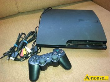 Anonse KONSOLA ps3 slim 320gb cech-3004b, wersja PLAYSTATION 3 slim, pojemnosc dysku 320 gb, stan uzywany, 320 gb, sprawna, stan wizualny oceniam n