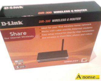 Anonse D-LINK dir-300 router wifi, symbol producenta /e, nazwa produktu, wireless g, with 4 Port 10/100 switch, producent, klasa produktu, (bramka
