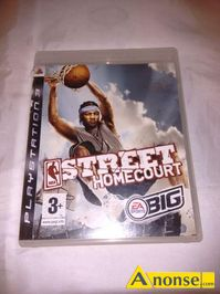 Anonse GRA ps3 NBA street homecourt, stan uzywany, img border=