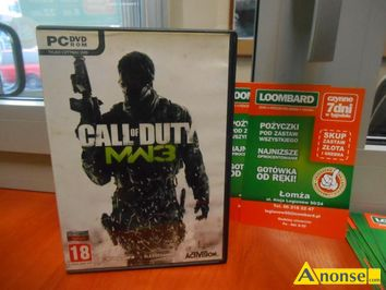 "Anonse CALL of duty mw3 gra pc, wymagania sprzętowe, system: windowsŽ XP / Windows vistaŽ / windowsŽ 7 procesor: intelŽ core"" 2 DUO e6600 or AMD ph"