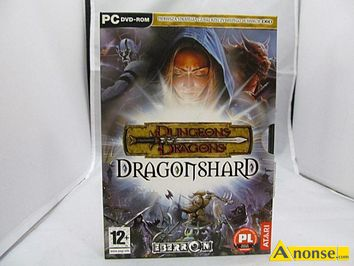 Anonse DUNGEONS dragons dragonshard, stan uzywany, gre na pc, hard, hard to strategia czasu rzeczywistego wykorzystująca zasady systemu, &,tym samy