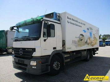 Anonse MERCEDES ACTROS 2532 6X2 CHODNIA, 2008r., 11.946cm<sup>3</sup>, 320KM, D, 455.000km, chłodnia, bordowy, abs, immobiliser, c.123.000zł do uzg.. SŁAWNO