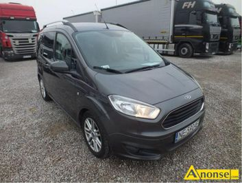 Anonse FORD Tourneo Courier, 2017r., 1.500cm<sup>3</sup>, 95KM, D, hatchback, 22.058km, grafitowy, abs, immobiliser, c.35.100zł. KOMORNIKI t.71 715-60-17