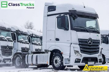 Anonse MERCEDES Actros 1845 Bigspace **SERWIS do końca**, 2014r., 12.809cm<sup>3</sup>, 448KM , diesel, 506.462km, ciągnik siodłowy, abs, immobiliser, centra