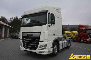 Anonse DAF XF 106.460 Euro 6 / Manual / Standard / Space Cab, 2015r., 12.900cm<sup>3</sup>, 460KM, D, 233.000km, ciągnik siodłowy, abs, immobiliser, centralny,