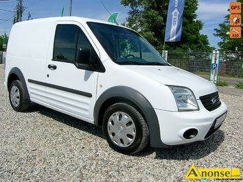 Anonse FORD Transit Connect, 2010r., 1.800cm<sup>3</sup>, 90KM, diesel, 160.000km, furgon blaszak, biały, abs, regulacja wysokosci fotela, immobiliser, centra