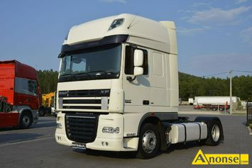 Anonse DAF XF 105.460 Euro 5 ATE Manual Low deck Mega Super, 2010r., 12.900cm<sup>3</sup>, 460KM, diesel, 874.000km, ciągnik siodłowy, abs, immobiliser, centr