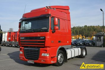Anonse DAF XF 105.460 Euro 5 Space Cab Manual Retardetr, 2008r., 12.900cm<sup>3</sup>, 460KM, diesel, 999.999km, ciągnik siodłowy, abs, immobiliser, centralny