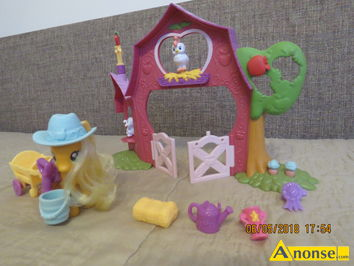 Anonse FARMA APPLE JACK MY LITTLE PONY, Posiadam do sprzedania farmę Apple Jack My Little Pony Hasbro, stan idealny, polecam., stan idealny, c.30zł