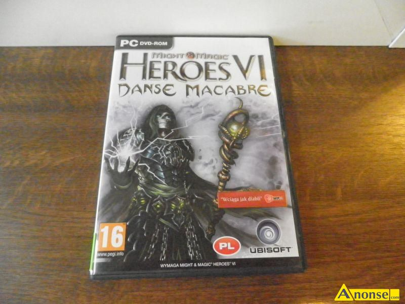 pack do, heroes vi, PC danse macabre, stan uzywany, grę, of might and Magic vi, makabre, w opakow - image 0 - anonse.com