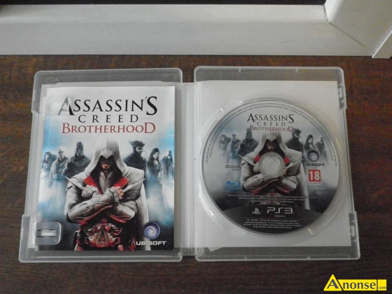 na ps3 assassins creed brotherhood, konsole play STATION 3