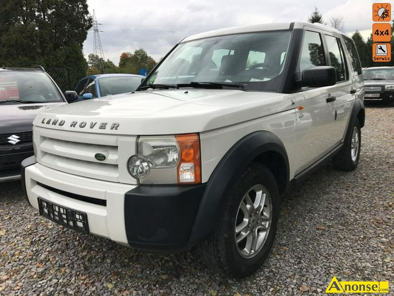 LAND ROVER DISCOVERY, 2006r., 2.700cm#, 190KM, diesel, 201.000km, biały, abs, immobiliser, centraln - image 0 - anonse.com