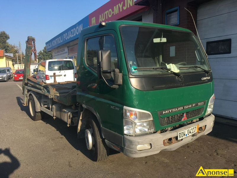 MITSUBISHI Canter FE85 Bramowiec, 2007r., 2.977cm#, 150KM, diesel, 295.000km, komunalny, abs, immob - image 0 - anonse.com