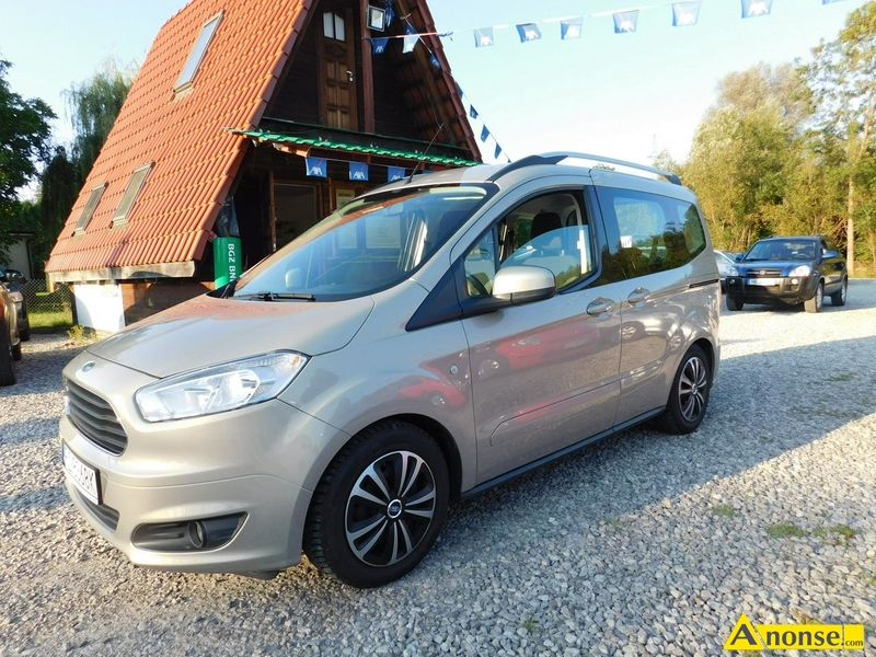 Ford  Tourneo Courier, 2014r., 1.000cm3, 100KM , benzyna, 71.000km, beżowy,opis dodatkowy: abs, kon - image 0 - anonse.com