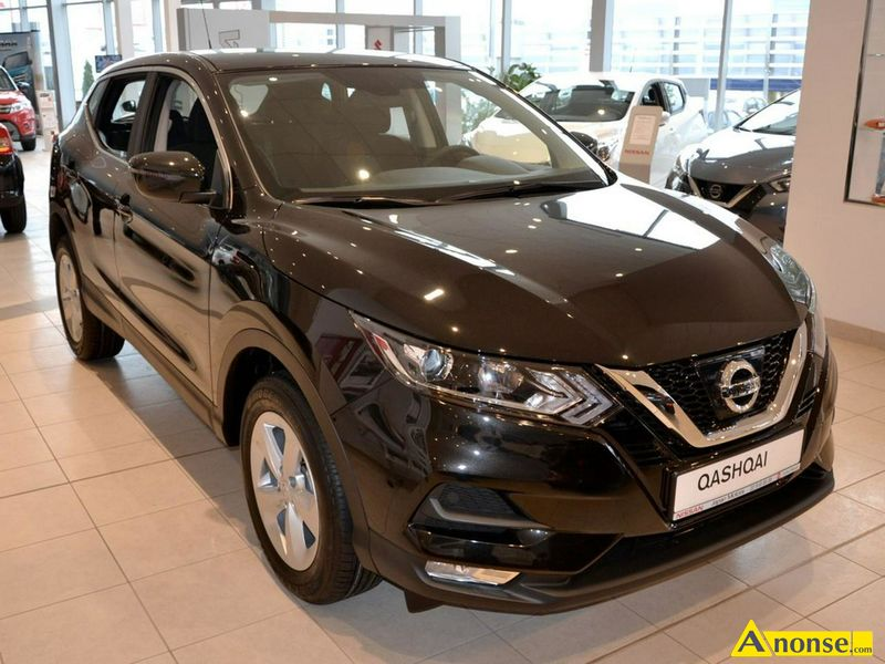 NISSAN QASHQAI, 2018r., 1.200cm#, 115KM, benzyna, hatchback, 100km, fioletowy, metalik, abs, weluro - image 0 - anonse.com